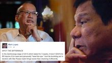 Socmed blogger compares Duterte and Pnoy style