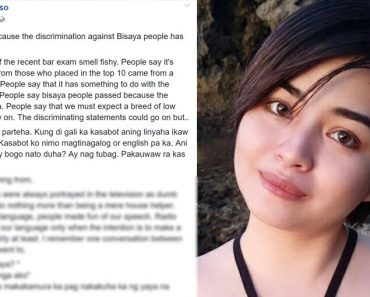 Viral post rants against Tagalogs who discriminate againts Bisaya