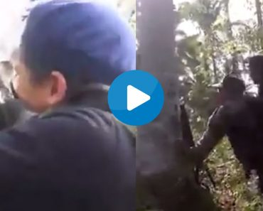leaked video of the gun battle between Abu Sayyaf and government soldiers