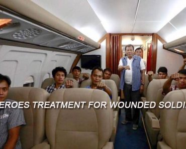 Duterte gives heroes treatment to wounded soldiers