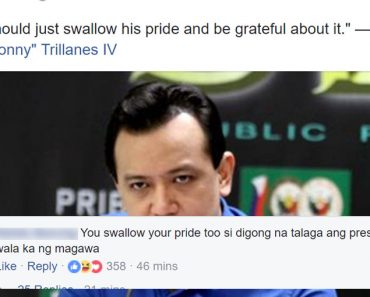 Netizen burns Trillanes after telling Duterte to swallow his pride and accept American help