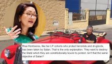 Post compares Hontiveros, pals political objectives to Satan