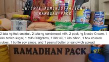 Ramadan pack of Duterte government