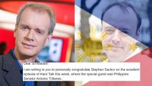 UK National writes open letter to thank Stephen Sackur of BBC