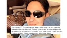 Atty Bruce Rivera have strong words against St Scholastica alumni, parents