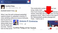 Cynthia Patag accused PNP of hiring Bulacan murder suspect to commit crime for propaganda purposes