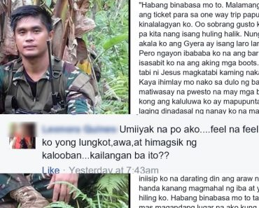 Fallen soldiers farewell letter to pregnant wife makes social media cry