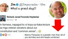 La Salle History prof reprimands people who rejoicing at Pacquiao's loss