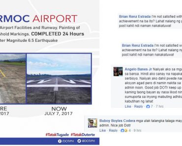 Ormoc airport resumes operation in 24 hours annoucement stirs heated debate on social media