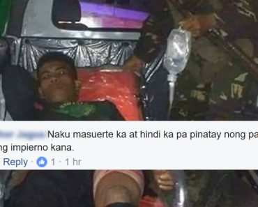 soldiers saved life of wounded NPA