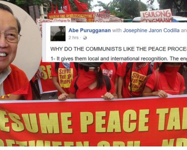 why communist loves the peace process