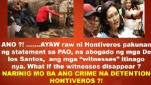 Risa Hontiveros refuses witness to talk to PAO laywer of Kian delos Santos family