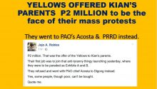 LP bribed 2M to delos Santos family