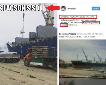 Pampi Lacson cement importing company photos