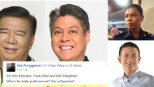 Purugganan to Drilon, Escudero, Pangilinan