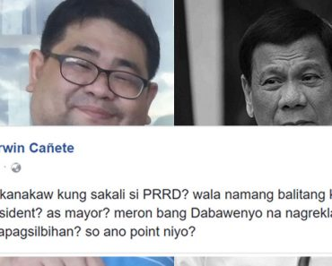 Atty Darwin Canete reacts on Trillanes allegation Duterte stole billions as Davao City mayor