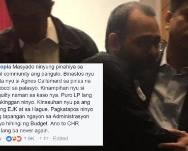 CHR Gascons reaction after learning P1K budget