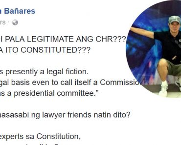 CHR no enabling law