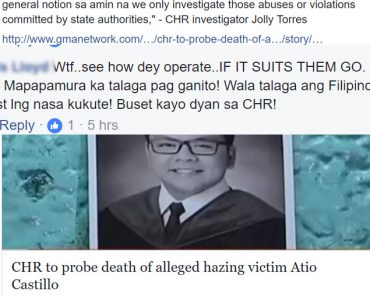 CHR to probe hazing victims death angers social media