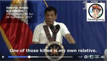 Duterte says war on drugs campaign sabotaged