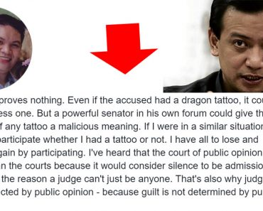Legal opinion on dragon allegation of Trillanes