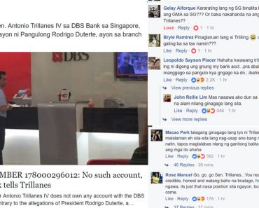 Trillanes in DBS Bank