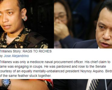 Trillanes rags to riches story