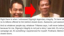 Mike Acebedo Lopez on Rodrigo Dutertes legendary integrity