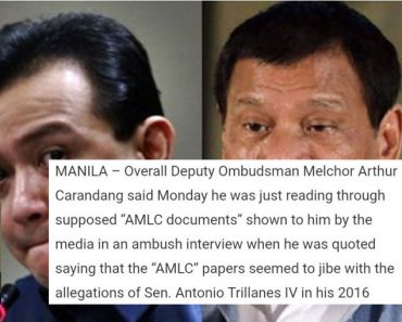 Netizens react to Carandang getting info from reporters not from AMLC