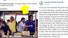 Sara Duterte on accusation they are original dilawans