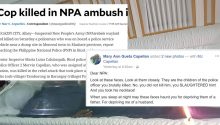 widow writes open letter to NPA