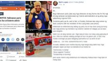 Netizen slams halloween party of Liberal Party members