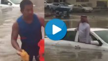 Pinoy hero in Saudi flood