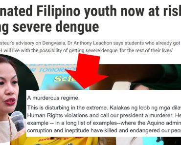Dengvaxia dengue vaccine scandal