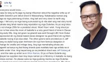 Photographer Lito Sy on Isabelle Duterte controversy
