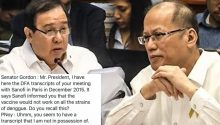 Pnoy Aquino exposed by Sanofi exec a liar