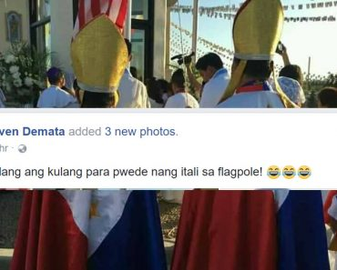 Priest wearing Philippine flag-inspired sotana stirs controversy
