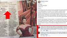 The Times says Isabelle Duterte following Imelda Marcos footsteps
