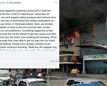 Davao mall survivor shares personal account of incident