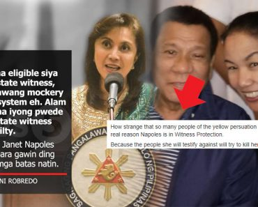 Janet Napoles on Witness Protection Program