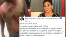 Karen Davila draws flak instead of sympathy after Facebook rant