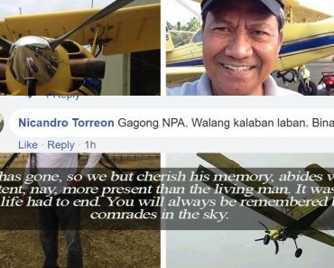 NPA killed pilot in Surigao