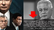 Rafael Alunan on Duterte as world strongman