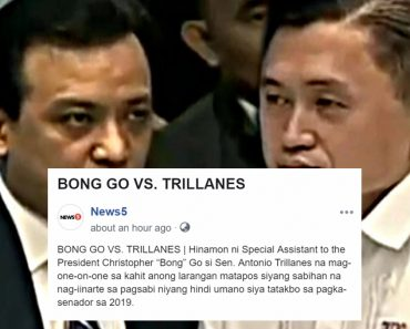 Bong Go challenges Trillanes to a one on one