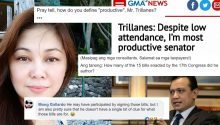 Netizens reject Trillanes brag