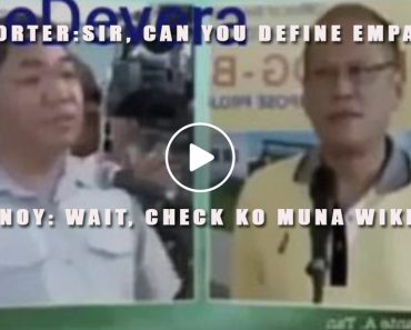 Pnoy turns to wikipedia