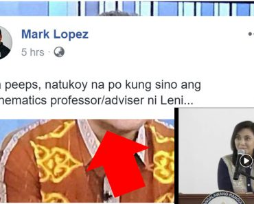 Robredos math teacher