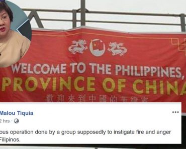 Welcome to the Philippines tarp
