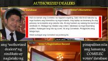 Comelec selling voters database