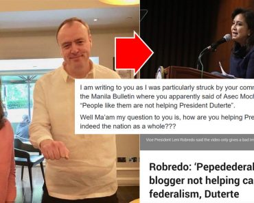 Open letter to Leni Robredo